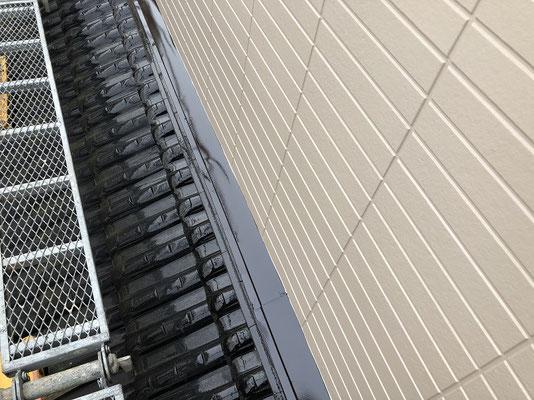 住宅外壁塗装 雨押え