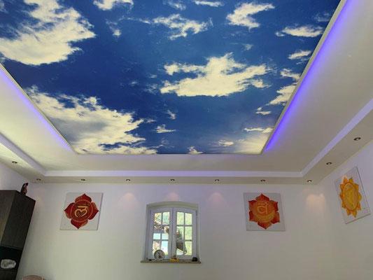 Der Himmel unseres Pavillons