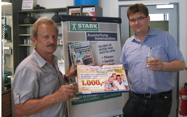 Horst Häseler (links) und Christian Stark