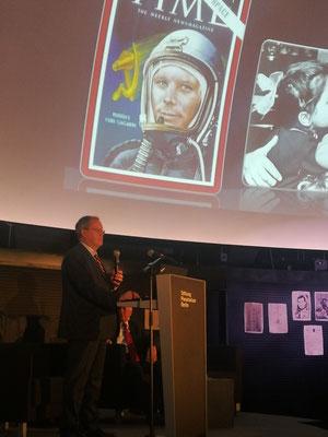 Unter dem Vorgänger Jurij Gagarin