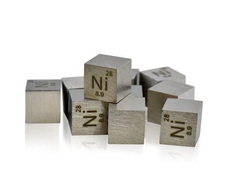 nichel cubo, nichel metallo, nichel metallico, nichel cubi, nichel cubo densità, nova elements nichel, nichel elemento da collezione