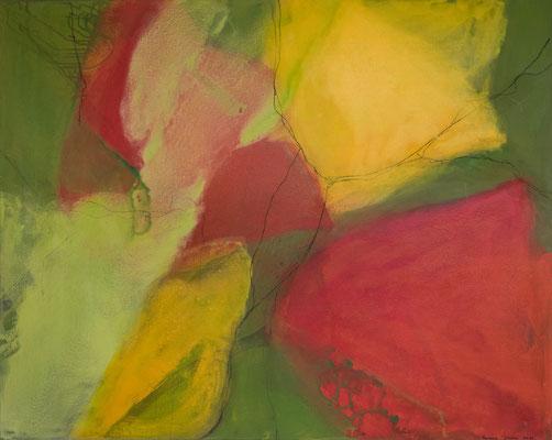 sommerdurchflutet  100 x 80 -- 2011  --  verkauft