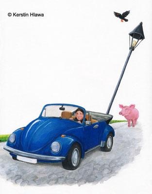"""Bild aus """"Amanda"""", Schott Verlag, Acryl, 2011"""