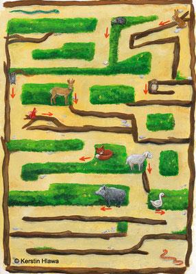 Spielentwurf Labyrinth,2013