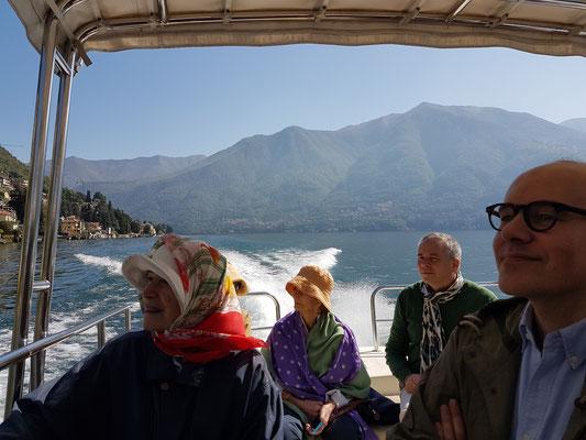 Boat ride on Lake Como, Italy