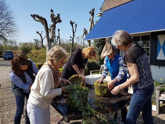 Flower arranging workshop, tulips tour in holland