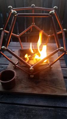 Foto: Feuerschale Agnihotra, für vedisches Feuerritual