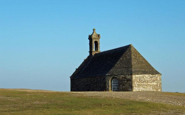 Kapelle auf dem Mont Saint-Michel de Brasparts