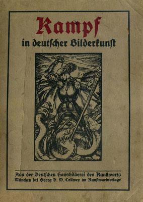 """Bildermappe der Zeitschrift """"Kunstwart"""" (1915)"""
