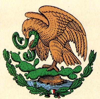 Staatswappen von Mexiko