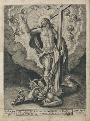 Stich des Martin de Vos, 1583 (Quelle: Wikipedia)
