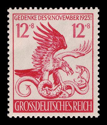 Deutsche Briefmarke von 1944
