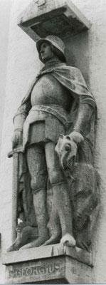 Denkmal für die Gefallenen des Ersten Weltkriegs am Rathaus von Freising