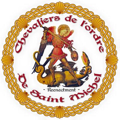 Versuch einer Wiederbelebung: Emblem einer Reenactmentgruppe, die auf Ritterturniere spezialisiert ist, Anfang des 21. Jahrhunderts