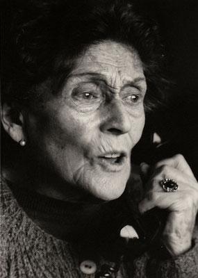 Gertrudis di Moses, fotografa tedesca residente a Santiago de Cile.
