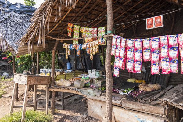 Mit etwas Obstverkauf wurde der Lebensunterhalt verdient - im Moment hat keiner Geld für Obst