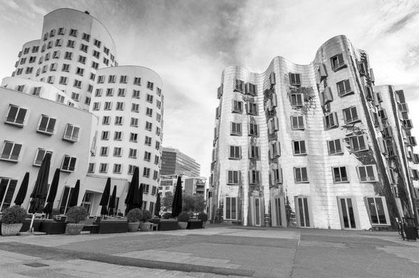 Gehry Bauten Düsseldorf, Nikon Z7 und Nikkor Z 50mm 1,2 S