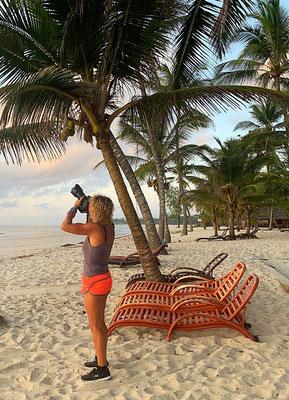 Bei der Arbeit ... Tiwi Beach Kenia