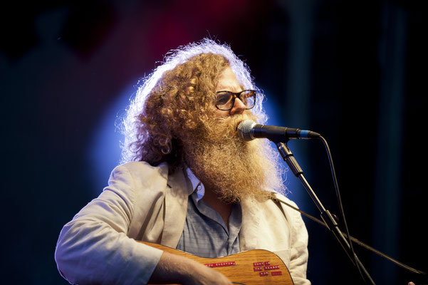 Shooting Ben Caplan in Konzert