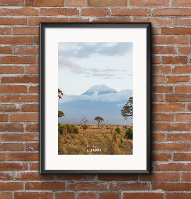 Fotografiert in Kenia ... der Kilimanjaro