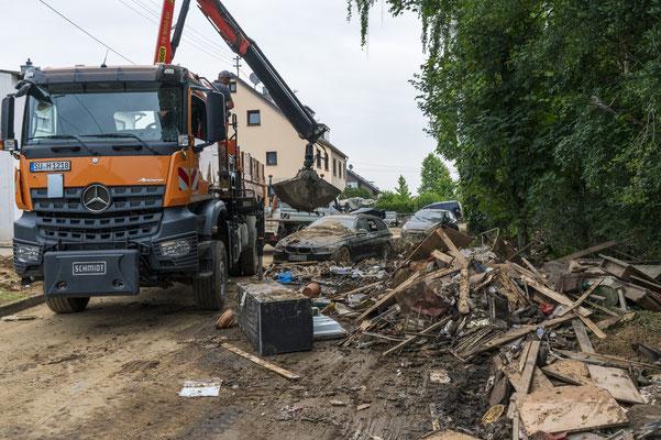 Hochwasser in Swisttal Odendorf
