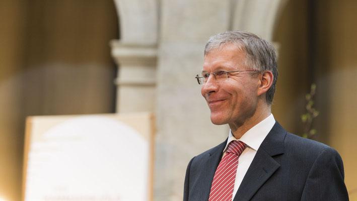 Die Verleihung der Dag-Hammarskjöld-Ehrenmedaille brachte Gäste zum Lächeln, natürlich auch H. Dr. Griep