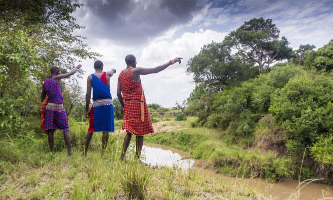 Prints und Leinwand aus Kenia