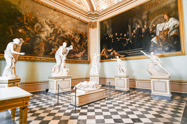 Uffizien in Florenz .... demipress Foto Frauenreise
