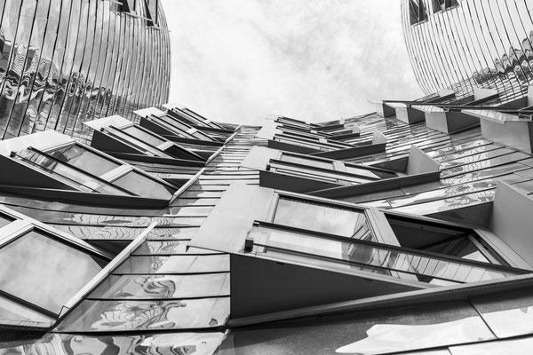 Gehry Bauten Düsseldorf, Nikon Z7und Nikkor Z 50mm 1,2 S