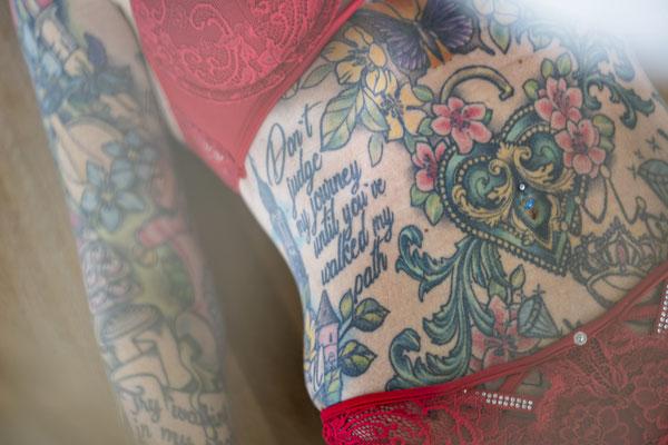Eigentlich sind Ihre Tattooas Bekleidung genug