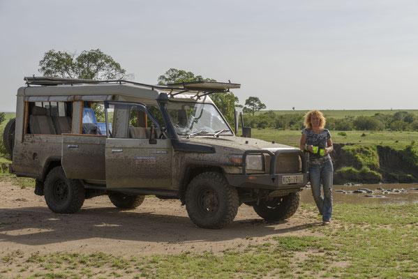 Unterwegs an Herzensorten ... hier Masai Mara Kenia