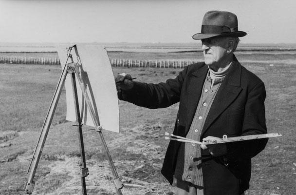 Maler Albert Johannsen abfotografiert mit Nikon Z7 und Nikkor Z 24-70mm f/2.8S