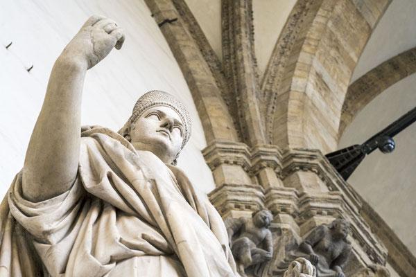 Bogenhalle Loggia del Lanzi Florenz