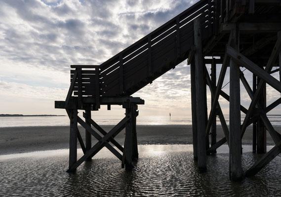 Fotografiert mit Nikon Z6 und Nikkor Z 24-70mm f/2.8.S ... Strand von Sankt Peter Ording
