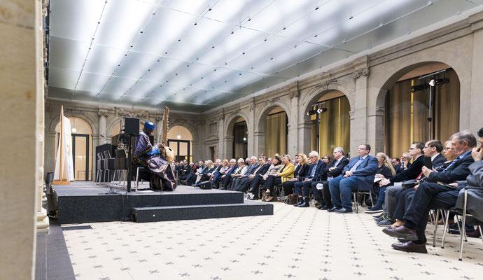 Verleihung der Dag-Hammarskjöld-Ehrenmedaille 2020 der Deutschen Gesellschaft für die Vereinten Nationen