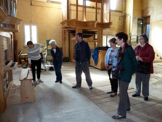 CA de l'Association Musique au temple en visite