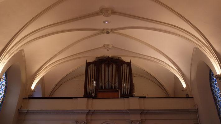 Orgue Wenner (même facteur d'orgue que celui de la cathédrale de Lescar)