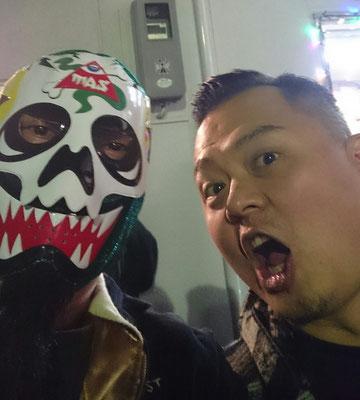 台湾のペインター、Jeffreyさんにやっと会えました。