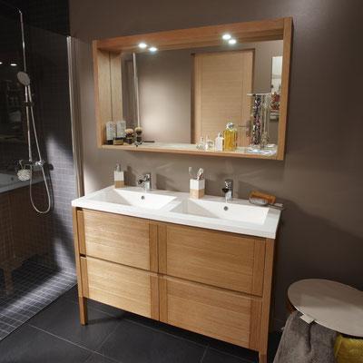Aménagement moderne de salle de bain à Grenoble        TEL.06-42-67-25-52 ROMI  PLOMBERIE