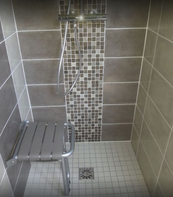 Rénovation d'une douche pour PMR