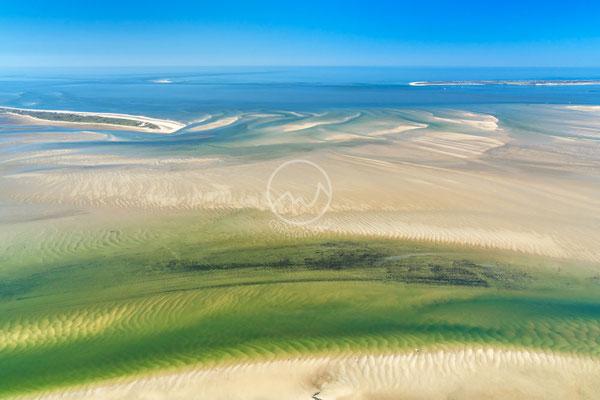 Das Wattenmeer von oben | Nordsee