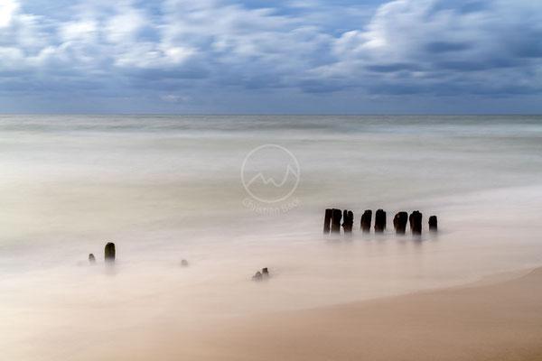 Buhnen im Sturm | Nordsee