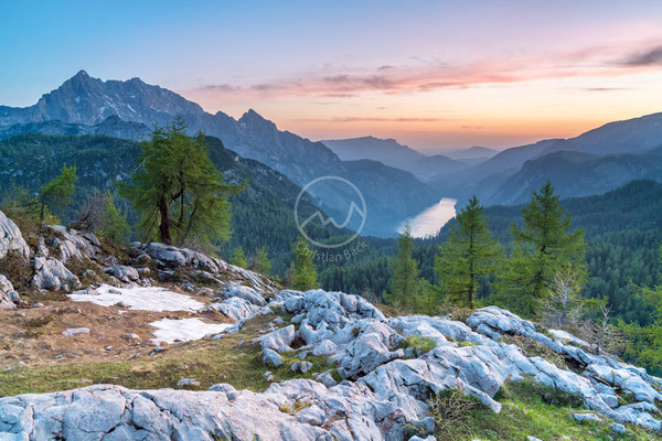 #32 Blick auf Königsee in den Berchtesgadener Alpen