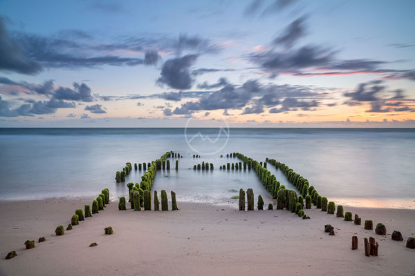 Buhnen auf der Insel Sylt | Ostsee