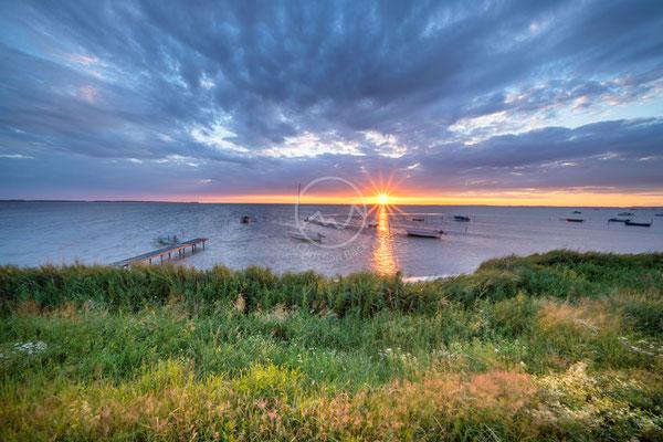 Sonnenuntergang auf der Insel Rügen | Ostsee