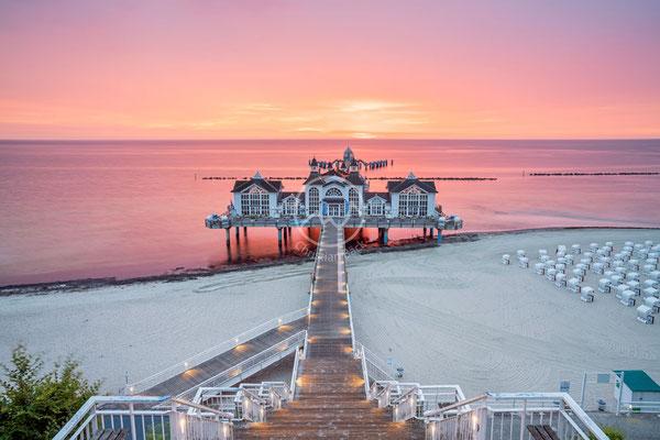 Seebrücke Sellin auf der Insel Rügen | Ostsee