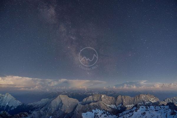 #7 Wettersteingebirge bei Nacht