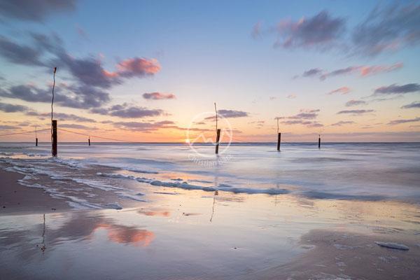 Abend am Strand auf der Insel Norderney | Nordsee