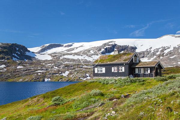 Hütte im Fjell
