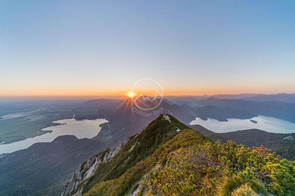 #19 Bei Sonnenaufgang am Herzogstand